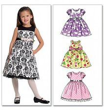 McCalls Childrens Easy Sewing Pattern 5793 Summer Dresses & Sash (McCalls...
