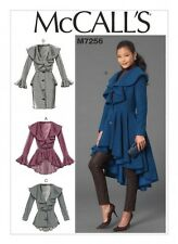 McCalls Ladies Sewing Pattern 7256 Coats & Jackets (McCalls-7256-M)