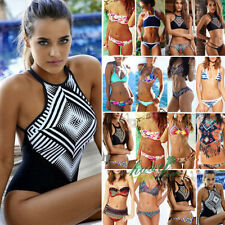 hot Womens Bikini Set Bandage Push-Up Padded Swimwear Swimsuit Bathing Beachwear