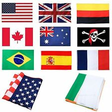 Large World Flags National Country Flag Rugby Football World Cup Decor Banner