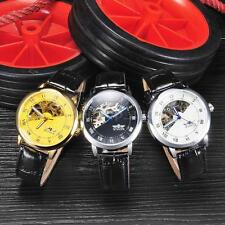 Luxury Dual Scale Skeleton Automatic Men Lady Mechanical Wrist Watch Watches