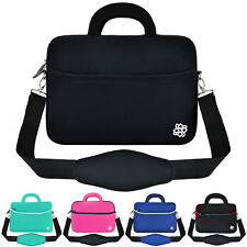 """Slim 13.3"""" Inch Notebook Laptop Sleeve Handle Padded Shoulder Bag Pouch Cover"""