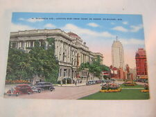 W. Wisconsin Ave. from Court of Honor Milwaukee Wi Vtg. Postcard  T*