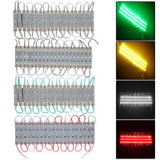 20PCS 3LED Module 5050 SMD Waterproof Hard Strip Light Lamp Decorate DC 12V New
