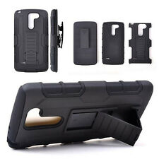 Tank Armor Rugged Hybrid Hard Case + Kickstand Cover For LG G3/G4 /G2 G3 G4 Mini