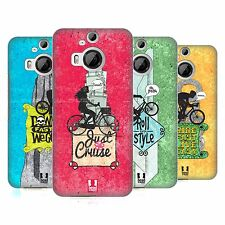 HEAD CASE DESIGNS BICYCLE LOVE HARD BACK CASE FOR HTC PHONES 2