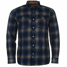 ONeill Mens Penwood Shirt Knitted Long Sleeve Button Down Collar Top Clothing
