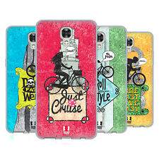 HEAD CASE DESIGNS BICYCLE LOVE SOFT GEL CASE FOR LG PHONES 2
