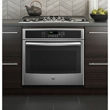 GE Black 30-inch Built-in Single Convection Wall Oven