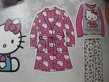 NEW PLUSH ROBE WITH  2PC FLEECE SET CHOOSE CHARACTERS AND SIZES ,GIRLS TODDLER