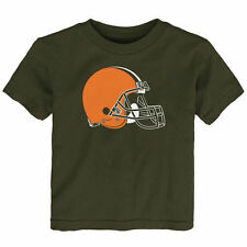 Cleveland Browns Toddler Team Logo T-Shirt - Brown - NFL