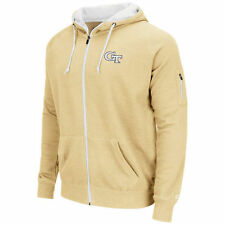 Georgia Tech Yellow Jackets Colosseum Cold Snap Full-Zip Hoodie - Gold - College