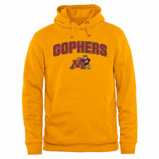 Minnesota Golden Gophers Proud Mascot Pullover Hoodie - Gold - College