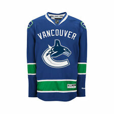 Reebok Vancouver Canucks Youth Premier Home Jersey - Blue - NHL