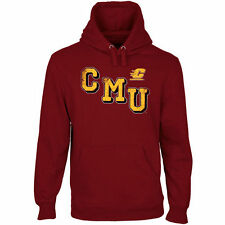 Central Michigan Chippewas Acronym Pullover Hoodie - Maroon - College