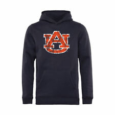 Auburn Tigers Youth Classic Primary Pullover Hoodie - Navy - NCAA