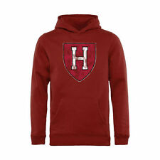 Harvard Crimson Youth Classic Primary Pullover Hoodie - Crimson - College