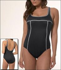MIRACLESUIT SPORTY TOUCHE US12 MIRACLE SWIM SUIT RESORT BATHING SWIMMING COSTUME