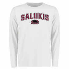 Southern Illinois Salukis Proud Mascot Long Sleeve T-Shirt - White - College