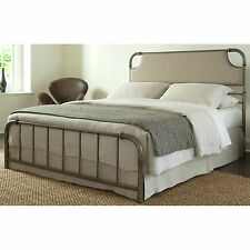 Fashion Bed Group B4152 Dahlia Snap Bed with Upholstered Headboard and Folding M