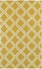 Tommy Bahama Gold Curves Waves Outdoor Contemporary Area Rug Geometric 51112
