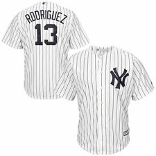 Alex Rodriguez New York Yankees Majestic Cool Base Player Jersey - White - MLB