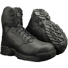 MAGNUM STEALTH FORCE 8.0 COMBAT BOOTS SIZE 4 - 6 WATERPROOF BLACK LEATHER WP