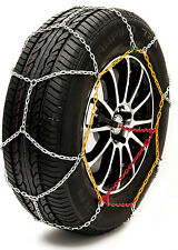 """Sumex Husky Winter Classic Alloy Steel Snow Chains for 14"""" Car Wheel Tyres -PAIR"""