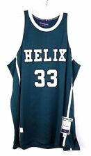 Helix High School #33 Bill Walton Green White Throwback Mens Basketball Jersey