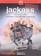Jackass: The Movie (DVD, 2003, Widescreen; Checkpoint Security Tag) S1