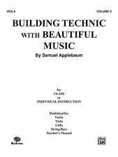 Building Technic with Beautiful Music - Viola Bk. 2 (1985, Paperback)