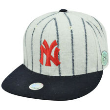 MLB New York Yankees American Needle Cooperstown Fitted Flat Replica Hat Cap
