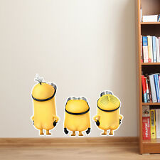 Despicable ME 2 Minion Butt Naked Vinyl Decal Bedroom Wall Car Sticker Art Gift