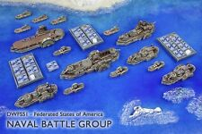 Dystopian Wars BNIB Federated States of America Naval Battle Group