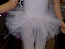 NWT Light pink net tutu Girls Ballet Ballerina ruffled dance fun Wolff Fording