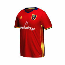 Real Salt Lake adidas Youth 2016 Replica Primary Jersey - Red - MLS
