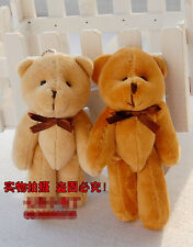 "5"" Dolls Tiny Cute Jointed Teddy Bear Small Plush Toy Idea Gift Brand New"