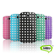 Polka Dot Protective Snap on Hard Shell Samsung Galaxy S3 Case / Cover