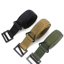 Military Gun Belt BlackHawk CQB Rescue Riggers Tactical Airsoft Rappelling Belts
