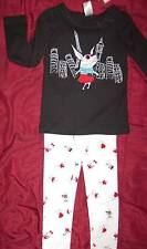 OLIVIA THE STORYBOOK PIG FOR GYMBOREE LEGGINGS + SHIRT 2 PC SET SIZE 5 OR 7 NEW