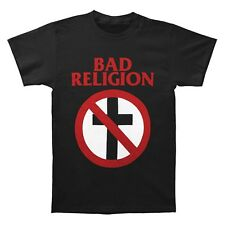 Licensed Bad Religion Classic Cross Buster Punk Rock Band T-Shirt