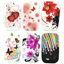 Silicone Rubber Gel Phone Soft Skin Cover Case For Samsung Galaxy Fit S5670