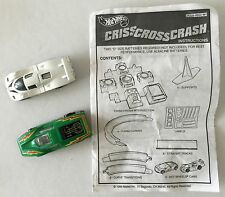 Criss Cross Crash 1999 Hot Wheels 2 Replacement Cars and Instruction Sheet