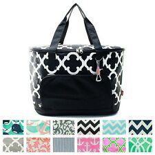 """24"""" Insulated Cooler Beach Tote Bag Picnic Basket Jumbo Large Thermal Utility"""
