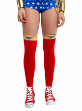 NEW DC Comics Wonder Woman Costume Cosplay Tights Pantyhose Nylons S/M OR L/XL