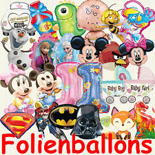 SUPERSHAPE MEGA SELECTION Helium Foil Balloon Deco Kid's birthday balloon