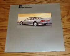 1991 Ford Thunderbird Deluxe Sales Brochure 91 Super Coupe LX