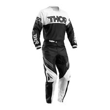 THOR Motocross trousers + Jersey 2016 - Phase Hyperion - SchwarzWhite