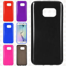 For Samsung Galaxy S7 Frosted TPU CANDY Gel Flexi Skin Case Phone Cover