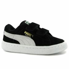 Puma Kids Suede Velcro Infants Boys Casual Shoes Trainers Sneakers Suede